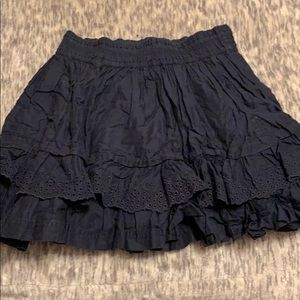 Cute blue flowy Abercrombie and Fitch skirt.
